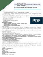Tematica Si Bibliografie Poitie Campina