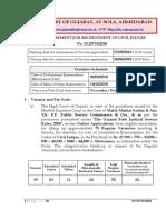 Official Notification for Gujarat High Court Recruitment 2018