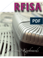 Manuale utilizzo Farfisa TK88