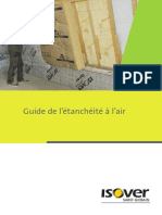 Isolation Thermique Isover Guide Etancheite Air