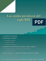 3. Los estilos pictóricos del siglo XIX.ppt