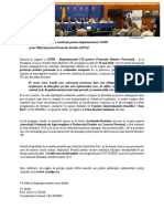Curs formare Responsabil Protectia Datelor -  ONLINE - Curs Certificat - Acreditat