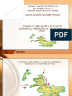 Anexo 1 Acta 13 Mayo 18 de 2012 Presentación Comuna 13 San Javier