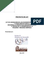 C  Proyecto Ley FONGAR Productivo