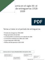 Economia de Entreguerras 1914 1939