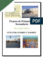 Guia Informativa Padres 6º Primaria