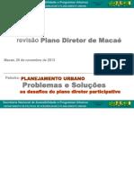 Planejamento Urbano e Plano Diretor - Carolina Baima
