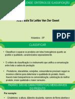 Aula 20 - Padrão de Qualidade_ Critérios de Classificação