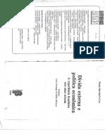 Paulo Davidoff Cruz - Endividamento Externo e Déficit Em Transações Correntes