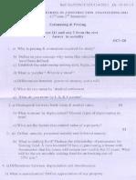 Estimating & Prising