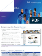 Entrepreneurship Course Overview