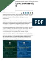 Política e Planejamento de Transportes - Ministério Dos Transportes, Portos e Aviação Civil