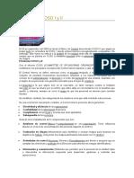 El Informe Coso i y II y 5 C-c-i