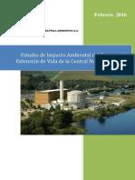 Extensión de Vida de la Central Nuclear Embalse - EsIA