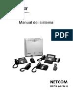 Manual de Netcom Neris 4-8 i6
