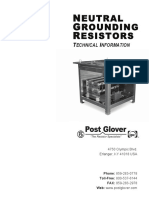 Pages From Post Glover Neutral Grounding Resistors T and B Grid Resistors