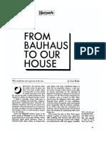 Quien le tema ala Bauhaus feroz