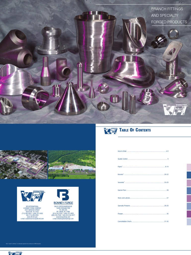 20140331WFIProduct-BRANCH FITTINGS pdf | Pipe (Fluid Conveyance