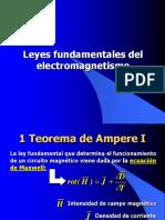 3- Leyes Electromagnetismo