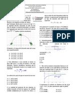 Evaluación de Periodo Competencias Matematicas 11