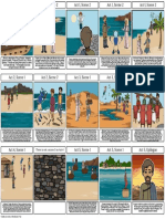 sample student storyboard