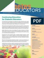 Association of Diabetes Educators Singapore July 2010