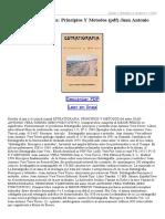Estratigrafia Principios Y Metodos 12845315