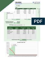 Debt Reduction Calculator 10 1