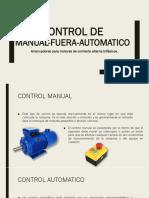 Control Manual-fuera-Automatico