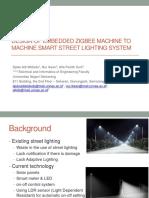 Design of Embedded Zigbee Machine to Machine Smart.pptx