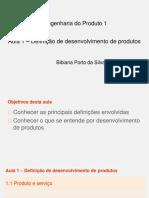 Aula 1 - Desenvolvimento de Produtos