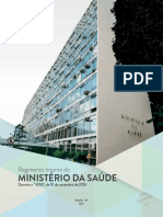 Regimento Interno Ministerio Saude