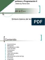 IntroduccionCpp-SintaxisBasica