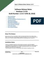 Hawkeye 2.4 EA Release Notes