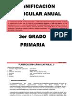 PLANIFICACIÓN  CURRICULAR ANUAL 3°
