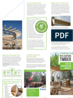 PEFC Certified Timber for the Construction Industry
