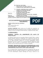 Resolución que suspende incautación de inmueble en Surco a Ollanta Humala y Nadine Heredia