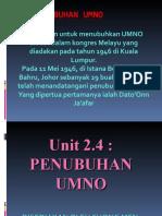 Unit 2.4 Umno Saje