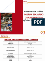 presentacion credito MILTON DURAN.ppt