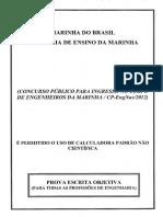 2012 Prova Objetiva Amarela CEM