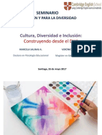 Cultura diversidad e inclusión
