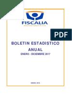 Boletin Estadístico Anual 2017