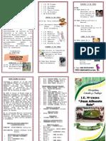 Programa Por Aniversario