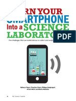 article - turn your smartphone into a science laboratory