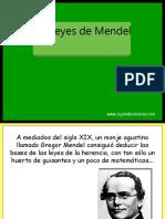 Leyes Mendel
