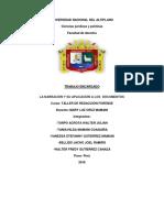 LA NARRACIÓN Y SU APLICACIÓN A LOS DOCUMENTOS.docx