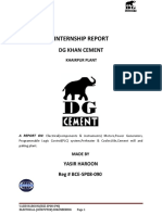 Dg Cement Internship Report