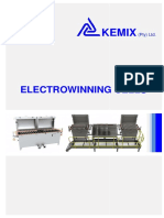 Kemix Electrowinning-Cell-Brochure 2018 Rev0