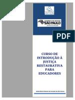 Manual Prático de Justiça Restaurativa Ministério Público