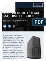 The Supreme Dream Machine PC Build the Tech Buyer's Guru (1)